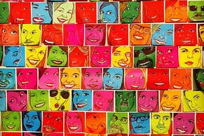 Bill Keaggy (St. Louis, Missouri, USA), Jenny Cimino's Facebook friends as drawn on Post-Its.